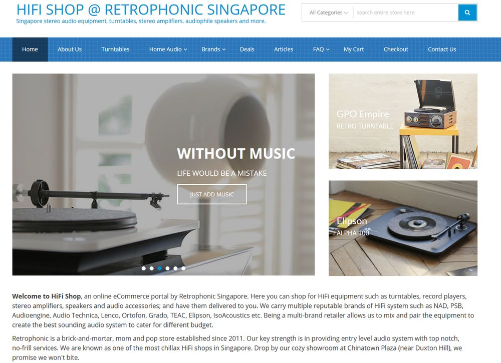 hifi shop@Retrophonic
